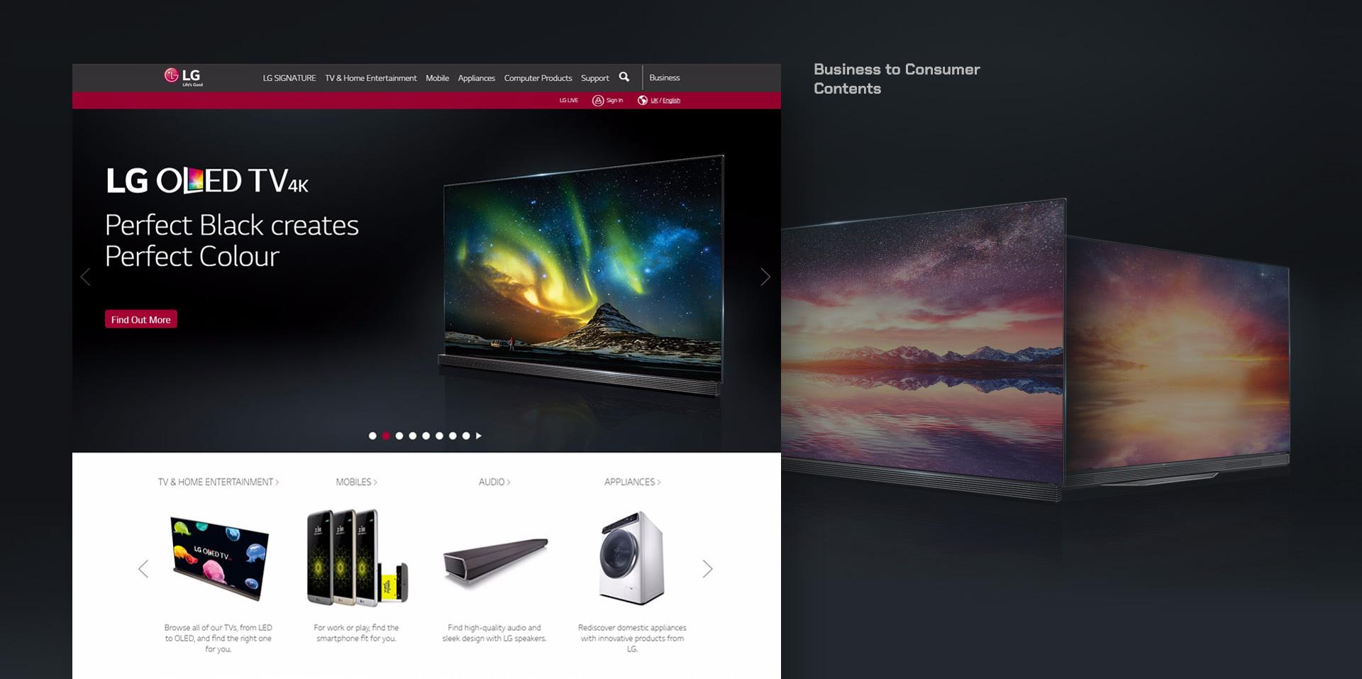 LG com 4 0 Global Rollout - The 51 - digital marketing agency